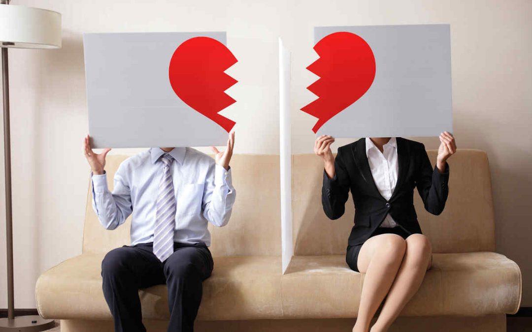 Divorcio y separación. No te instales en la rabia.